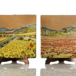 Ceramiche Taticchi Perugia - Stagioni su terracotta