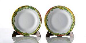 Piatti in ceramica Collezione Paesaggio