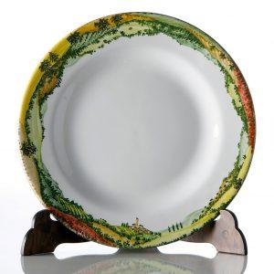 Piatto ceramica singolo Collezione Paesaggio