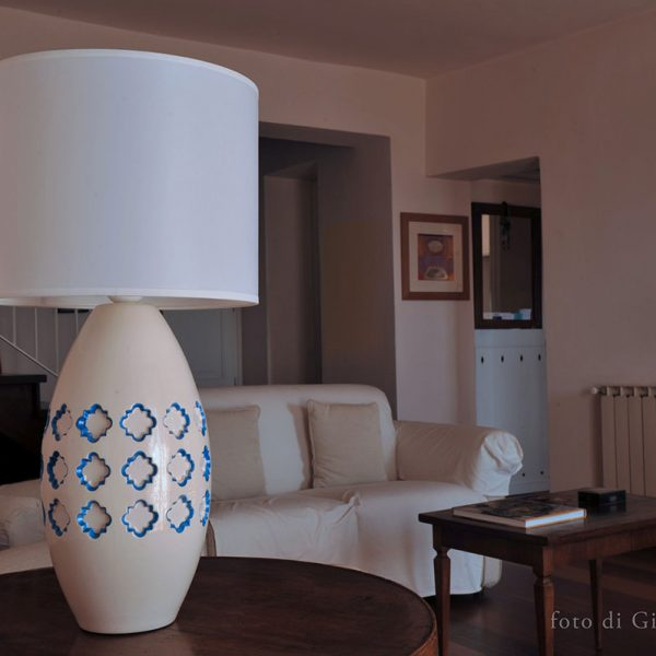Lampada da tavolo ceramica Pink-Lamp Classic