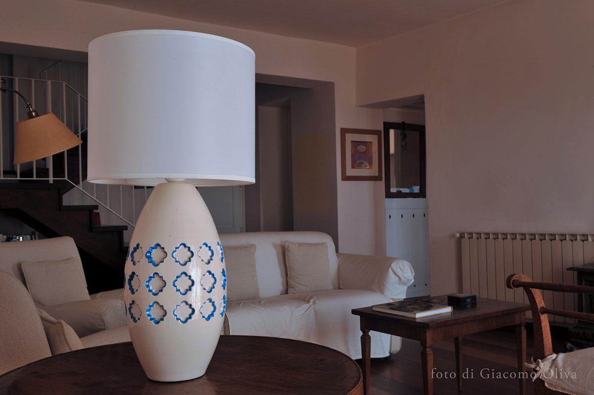 Lampada da tavolo in ceramica pink lamp classic - Lampada da tavolo classica ...