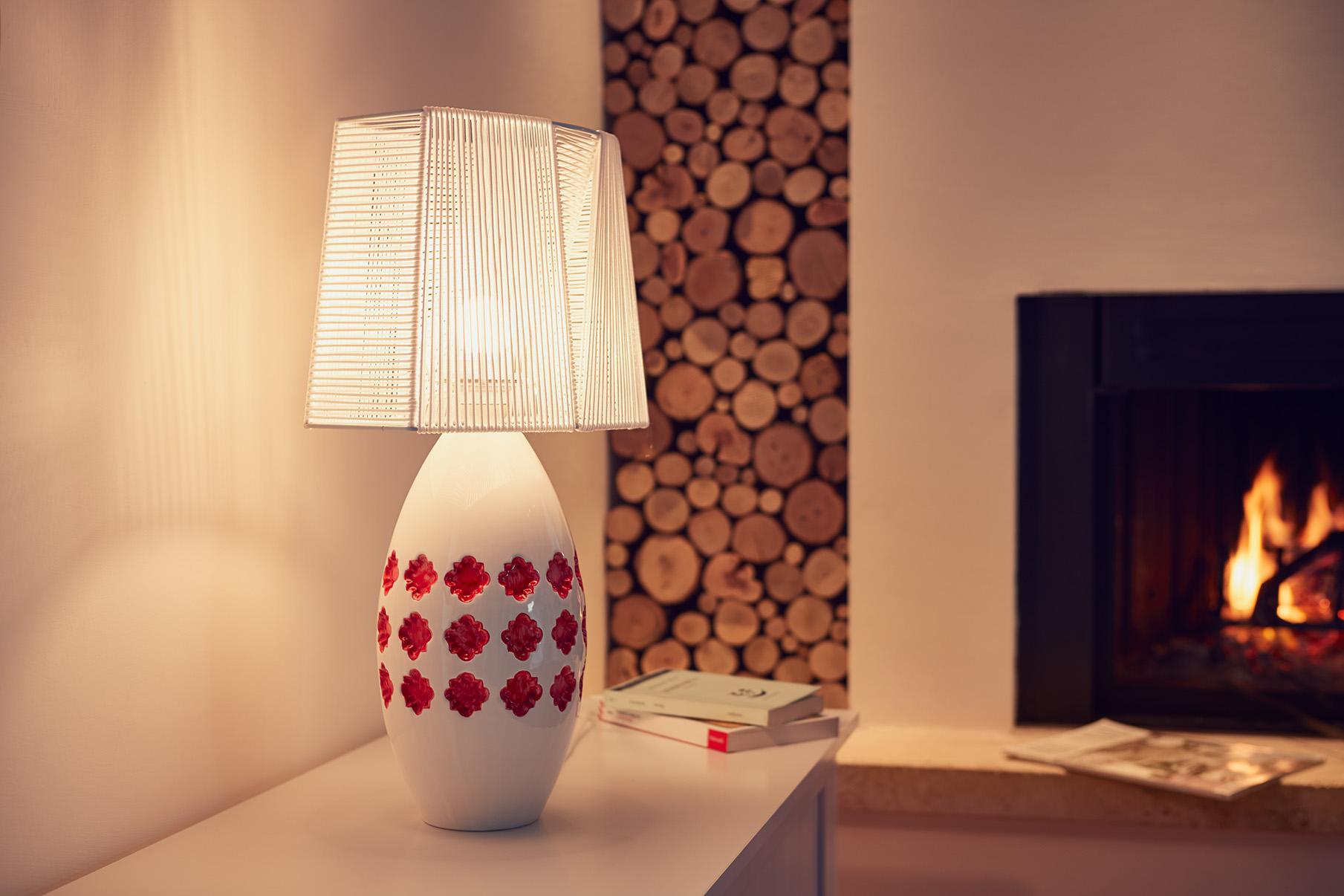 Lamp Lampada In CeramicaPink Materia Da Articity Tavolo 7ybfgY6