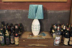 Lampada da tavolo ceramica design originale Materia Ceramica