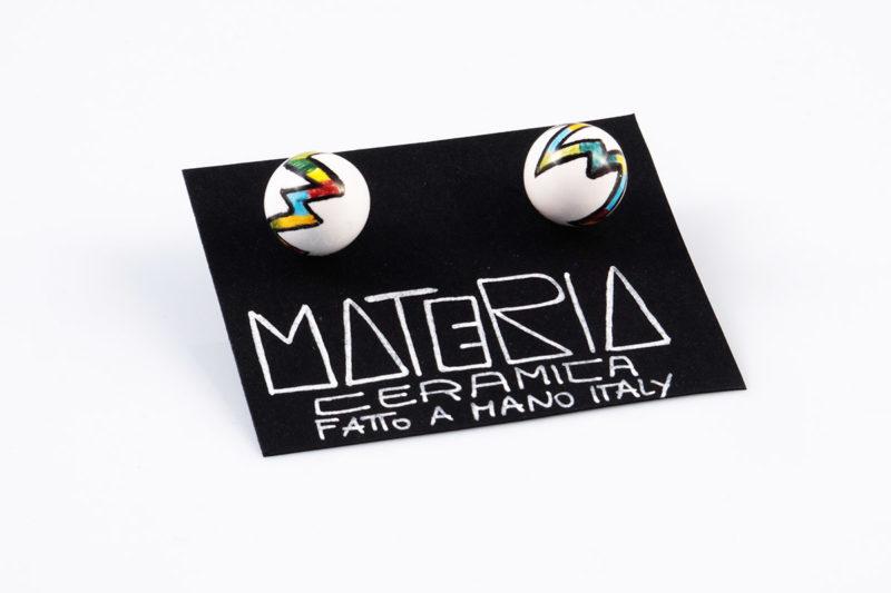 Orecchini ceramica | MR BUTTERFLY | Materia Ceramica Perugia