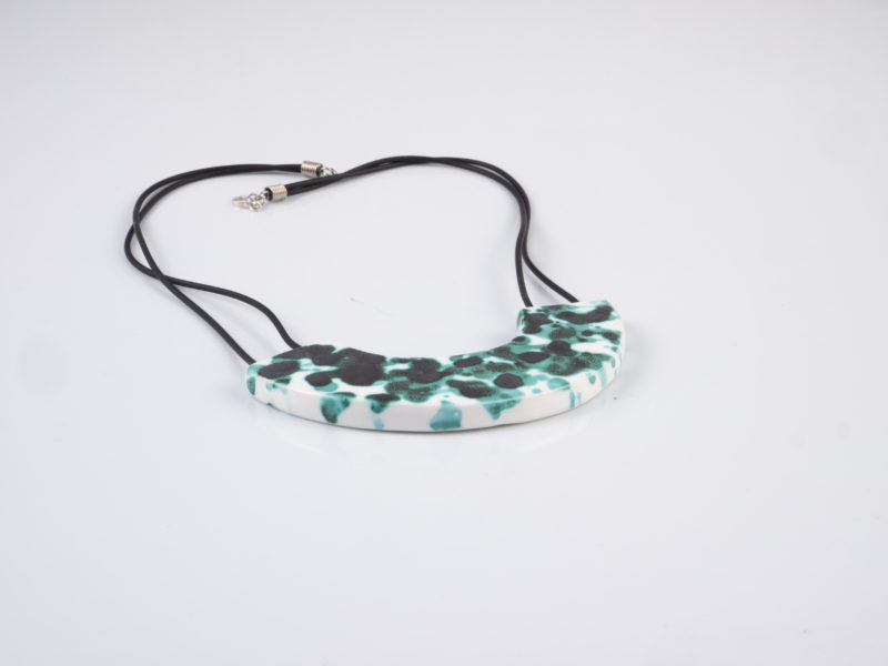 "Medaglione in ceramica ""Verde ramina"" - Materia ceramica"