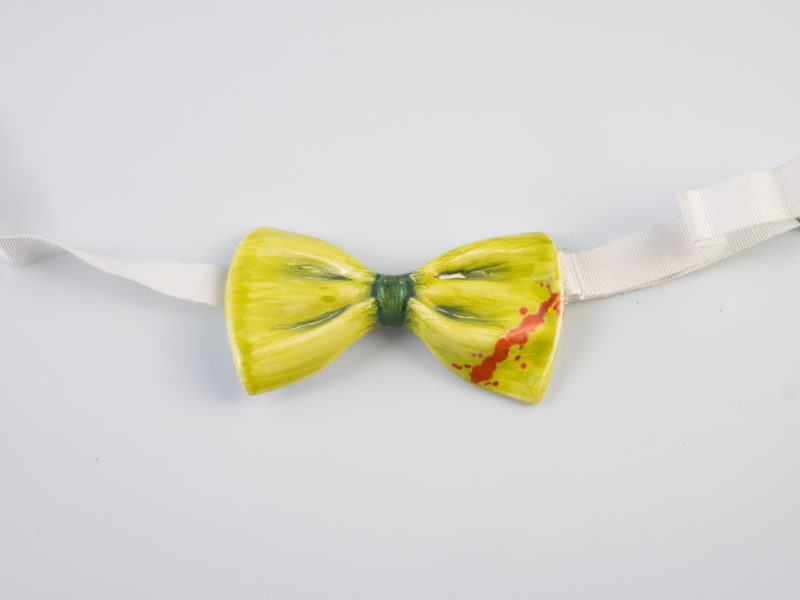 "Papillon in ceramica ""Green"" - materia ceramica"