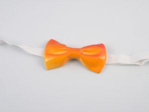 """Papillon in ceramica """"Orange""""- materia ceramica"""