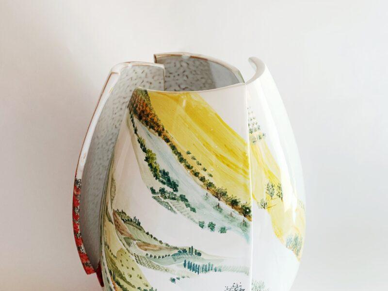 """Lampada in ceramica """"Visioni""""- Materia Ceramica"""