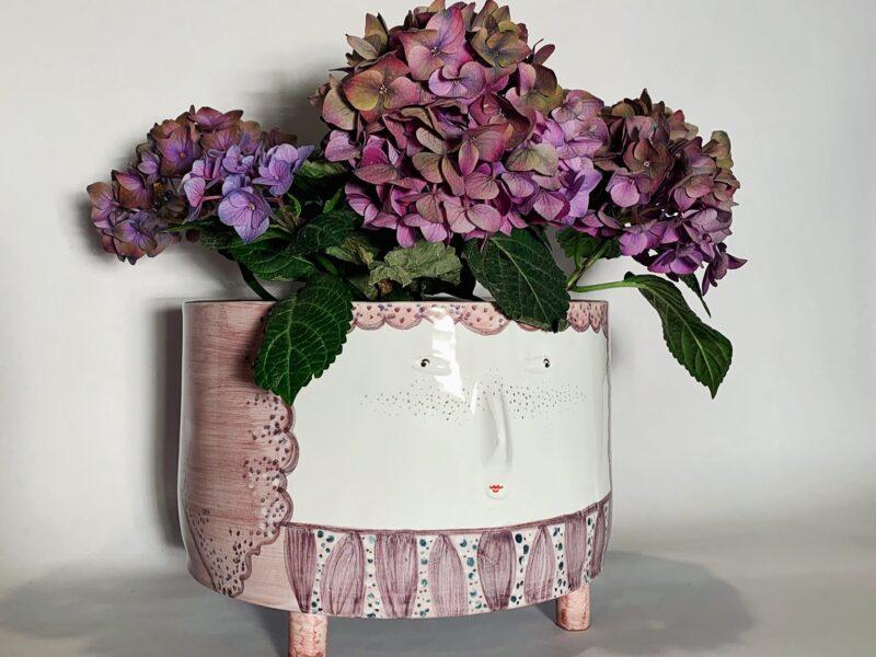 """Vaso in ceramica """"Viola"""" - Materia ceramica"""