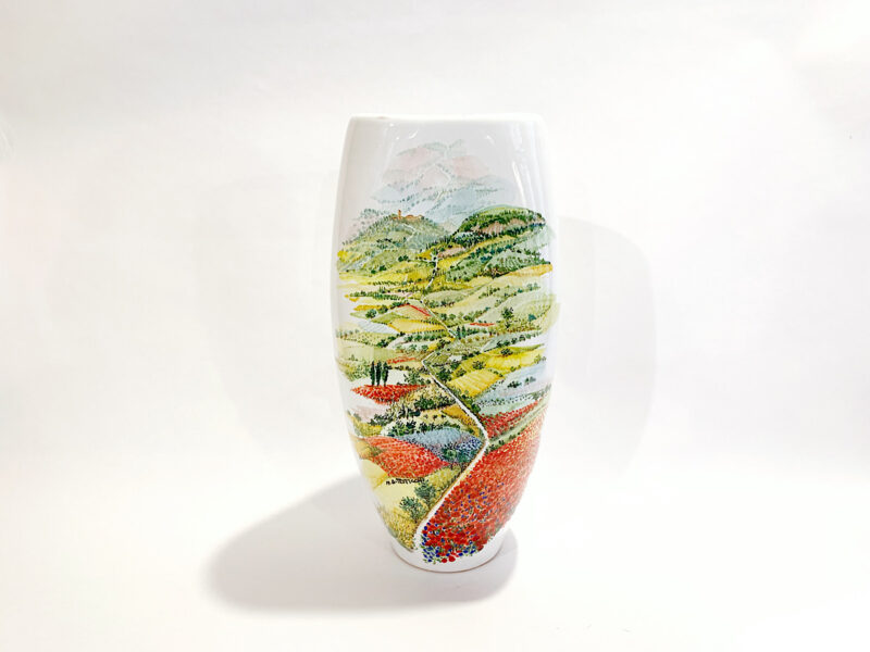 "Vaso in ceramica ""Colori"""