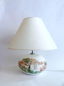 "Lampada in ceramica ""Vista Perugia"""