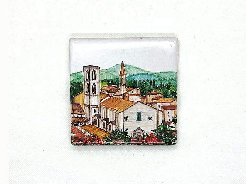 """Mattonella in ceramica """"Chiesa di San Domenico"""""""