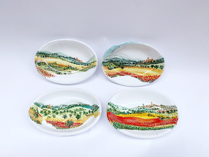 Piattini in ceramica