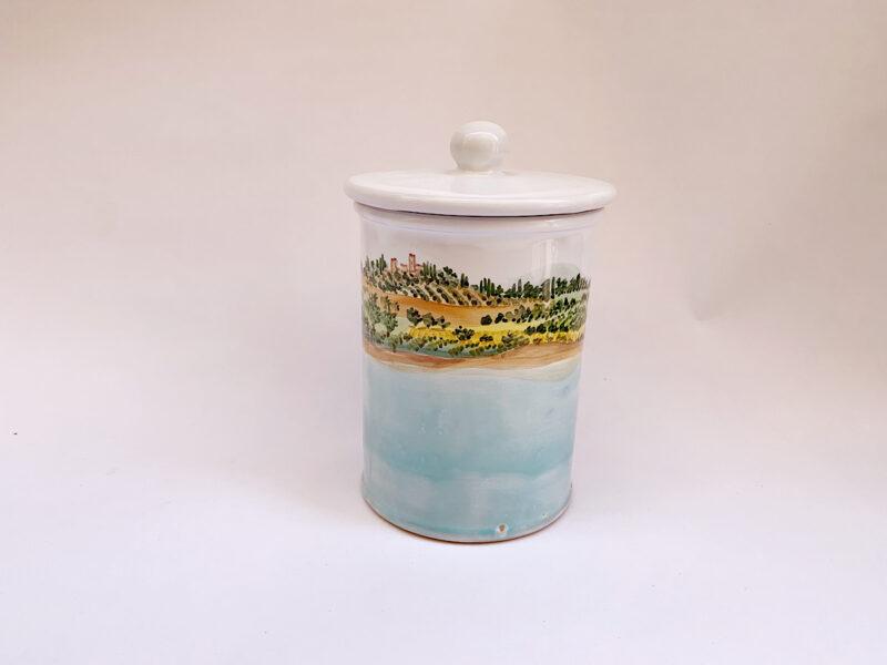"""Barattolo da cucina in ceramica """"Lago"""""""
