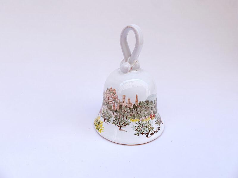 """Campanella in ceramica Small """"Perugia in Primavera"""""""