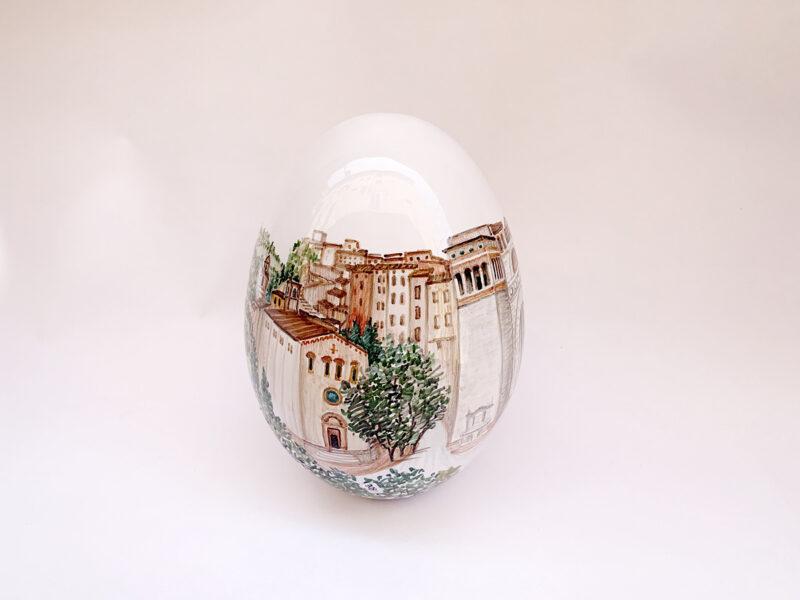 """Uovo in ceramica """"Perugia"""""""