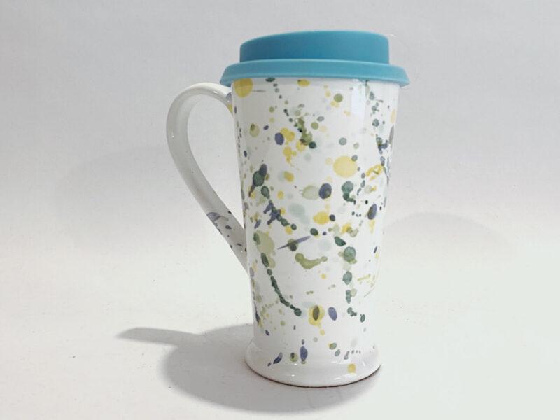 """Mug con coperchio in silicone """"Fantasia"""""""