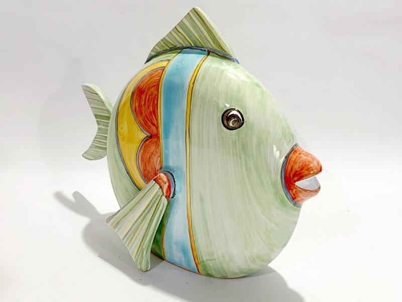 """""""Pesce piatto"""" in ceramica"""