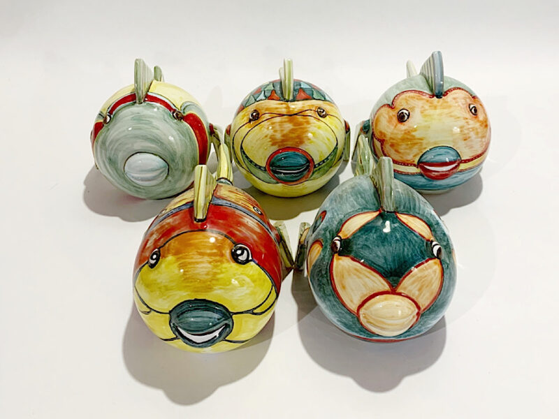 "Pesce in ceramica ""Palla"""