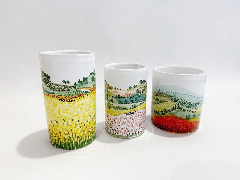 Portapenne in ceramica