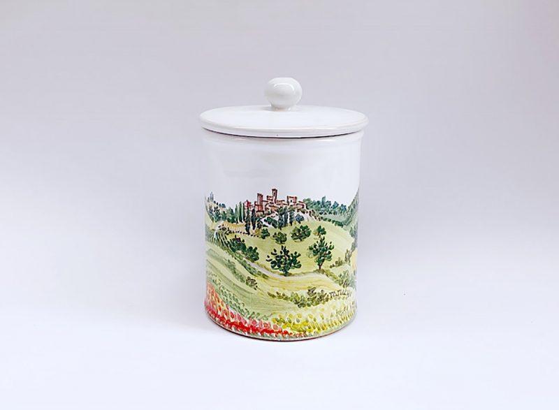"""Barattolo da cucina in ceramica """"Primavera"""""""