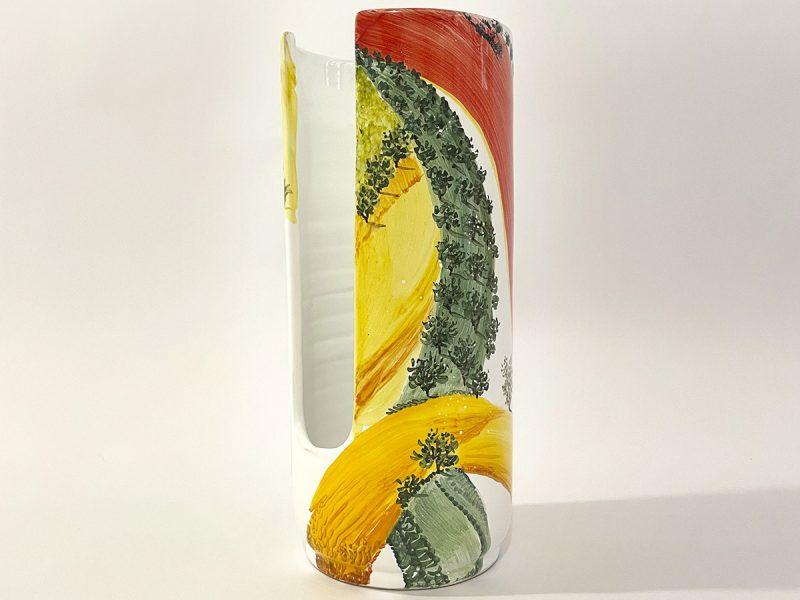 "Porta bicchieri in ceramica ""colori"""