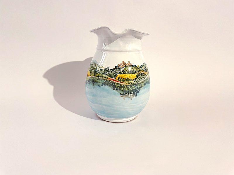 """Brocca grande in ceramica """"Lago Trasimeno"""""""