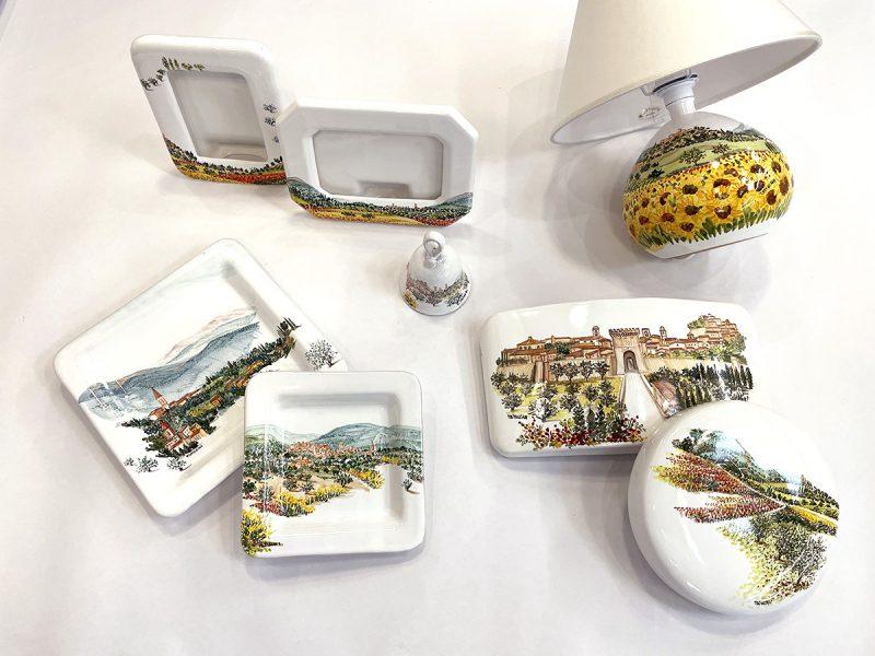 accessori da casa in ceramica