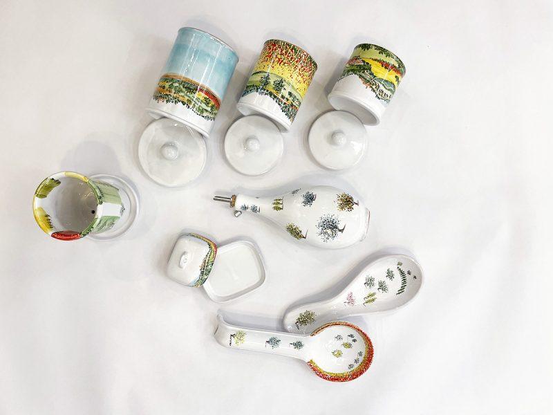accessori da cucina in ceramica