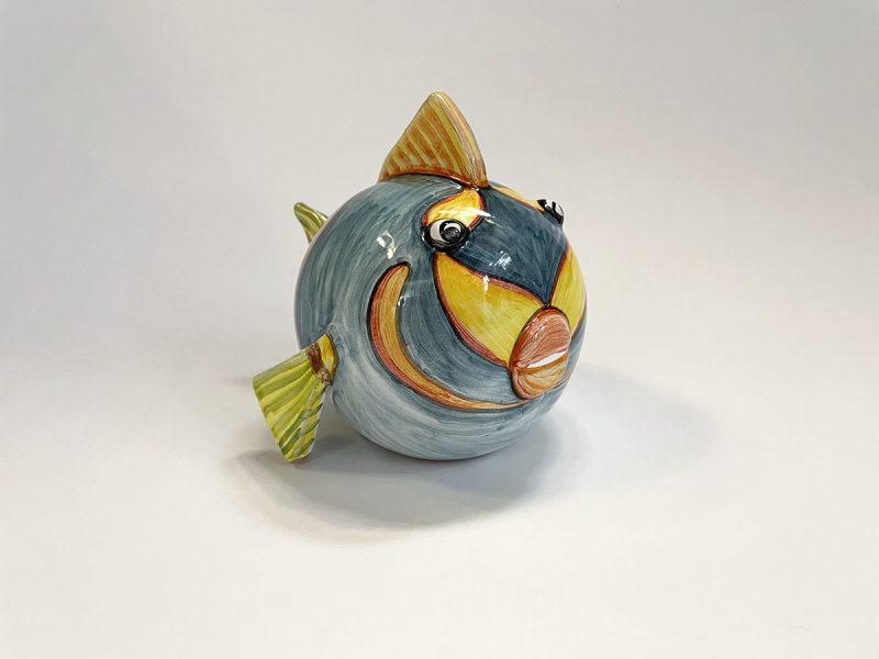 """Pesce piccolo in ceramica """"Fiore"""""""