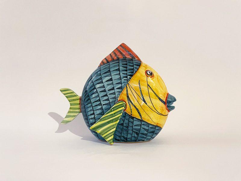 """Pesce grande in ceramica """"Tropicale"""""""