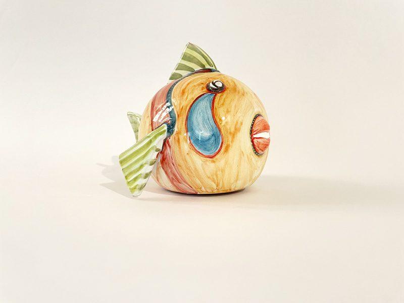 """Pesce palla piccolo in ceramica """"Goccia"""""""