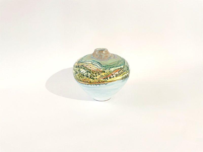 """Vaso in ceramica """"Lago Trasimeno"""""""