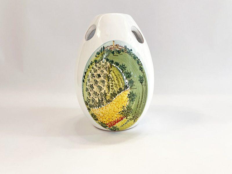 """Vaso in ceramica """"Paesaggio visione"""""""