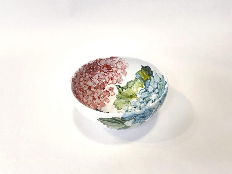 "Bowl in ceramica ""ortensie"""
